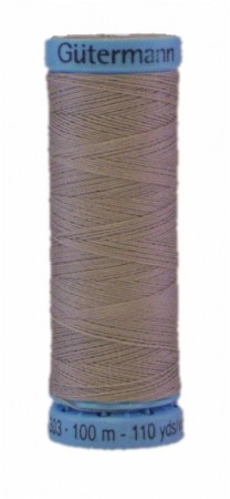 GÜTERMANN Silk Thread 100m Gray