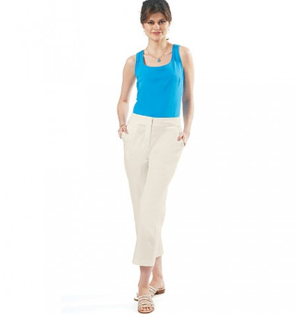 M6361 Misses' Skirt, Shorts and Pants In 2 Lengths (size: 16-18-20-22)