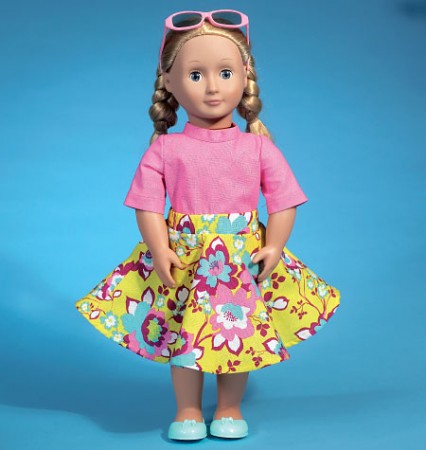 """M7106 Clothes For 18"""" Dolls (size: One Size Only)"""