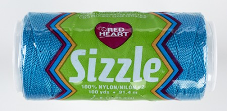 RED HEART SIZZLE  PARAKEET