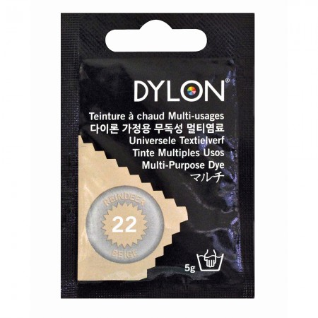 DYLON #22 Multi Purpose Dye - Reindeer Beige