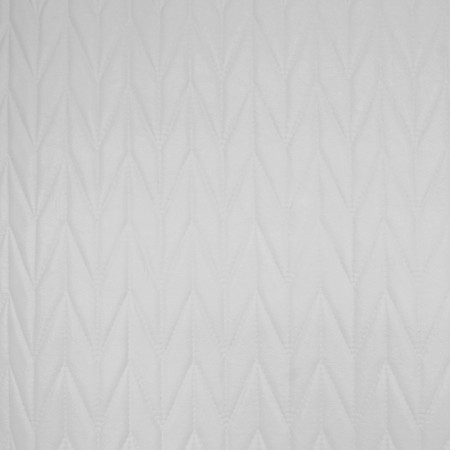 Home Decor Fabric - Glamour - Arrow leather look - White