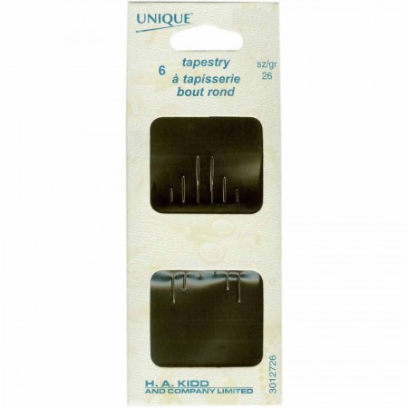 UNIQUE SEWING Tapestry Needles - size 26 - 6pcs