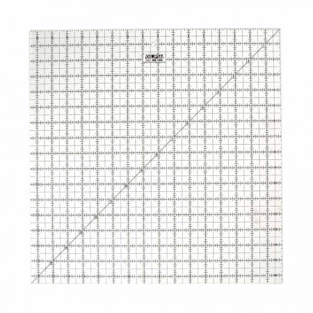 """OLFA QR-16S - 16½"""" Square Frosted Acrylic Ruler"""