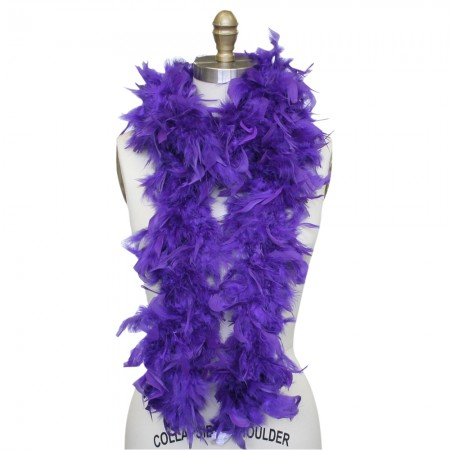 Feather Boa - Purple
