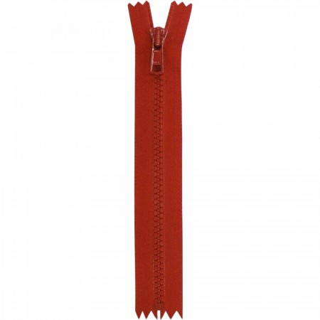 """COSTUMAKERS Activewear Closed End Zipper 18cm (7"""") - Hot Red - 1763"""