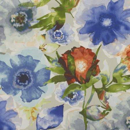 Home Decor Fabric - Waverly - Petal Press Ocean