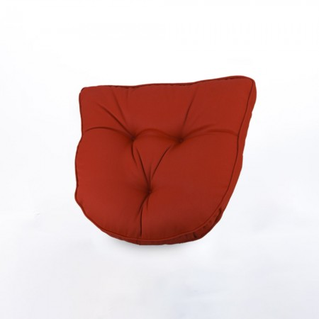 Indoor/Outdoor chair pad cushion - Solid - Red - 19.5 x 19.5 x 2.7''