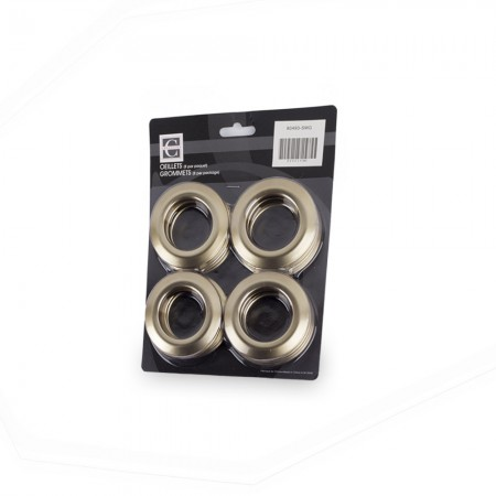 70mm - Plastic Grommets - Smokey Grey
