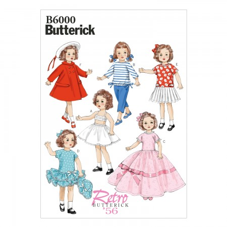 """B6000 Clothes For 18"""" (46cm) Doll (size: One Size Only)"""