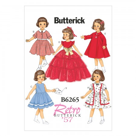 "B6265 18"" Doll Clothes (Size: One Size Only)"