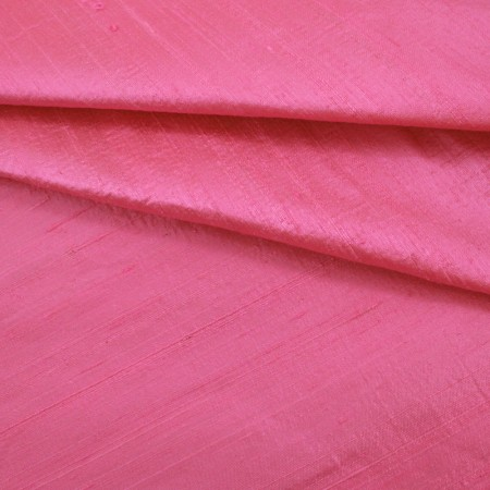 Boutique Silk Duppioni - Bubble Gum Pink