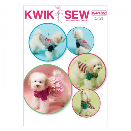 K4152 Dog Clothes (size: All Sizes in One Envelope)