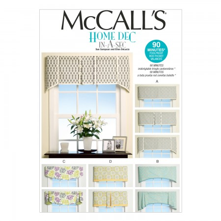 M7033 Window Treatments (size: All Sizes In One Envelope)