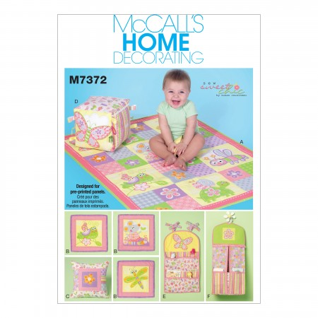M7372 Nursery Blanket, Pillow and Organization Accessories (size: One Size Only)