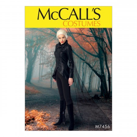 M7456 Misses' Seamed Jacket, Stirrup Leggings and Cape (size: 14-16-18-20-22)