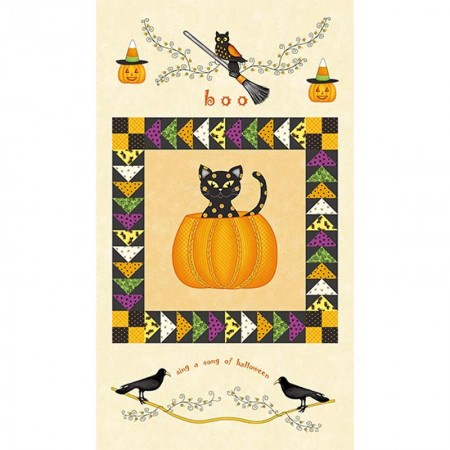 HENRY GLASS & CO INC - Cotton prints - Not So Spooky - Panel