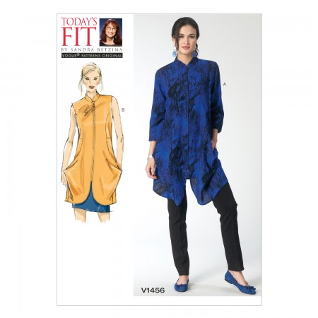 V1456 Misses' Tunic (Size: All Sizes in One Envelope)