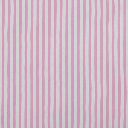 ROXY Rayon Print - Small Stripes - Pink / White