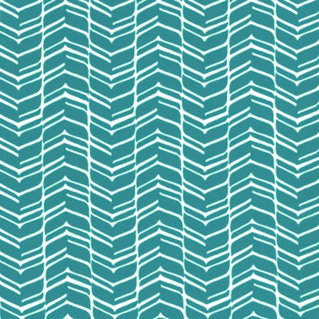 Home Decor Fabric - Signature Hector 1016 - turquoise, white