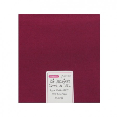 Fat Quarters - Burgundy