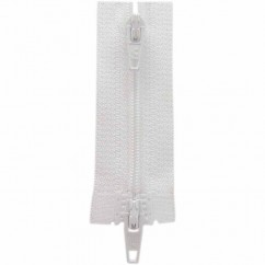 "COSTUMAKERS Activewear Two Way Separating Zipper 45cm (18"") - White - 1704"
