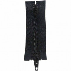 "COSTUMAKERS Activewear Two Way Separating Zipper 45cm (18"") - Black - 1704"