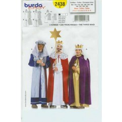 BURDA - 2438 Costume Child 3 Kings
