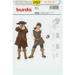 BURDA - 2452 Costume Child-Pirate