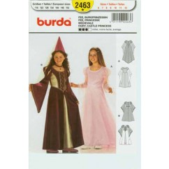 BURDA - 2463 Costume Child-Princess
