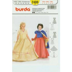 BURDA - 2480 Costume Child-Princess
