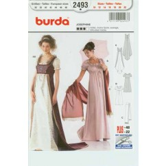 BURDA - 2493 Costume Ladies-Historical