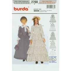 BURDA - 2768 Costume Ladies-Historical