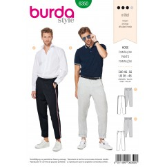 BURDA - 6350 Men's Pants/Trousers