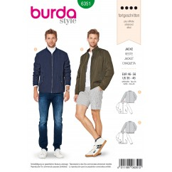 BURDA - 6351 Men's Jacket – Blouson