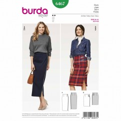 BURDA - 6467 Ladies Skirt