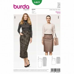 BURDA - 6469 Ladies Skirt
