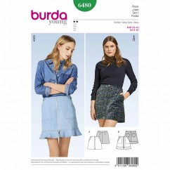 BURDA - 6480 Ladies Skirt