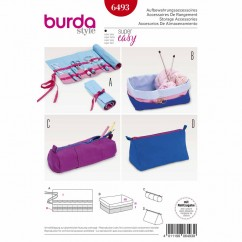 BURDA - 6493 Accessories - Knitting