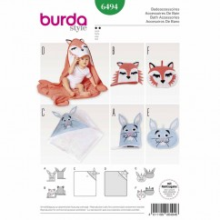 BURDA - 6494 Accessories - Toiletry