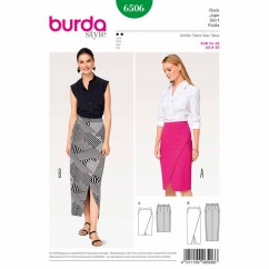 BURDA - 6506 Ladies Skirt