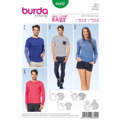 BURDA - 6602 Mens Top