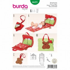 BURDA - 6623 Accessories Diaper Bag