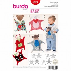 BURDA - 6624 Accessories Cuddle Cloth