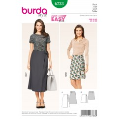 BURDA - 6733 Ladies Skirt