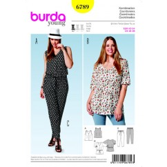 BURDA 6789 Ladies Coordinates-Plus