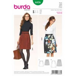BURDA - 6836 Ladies Skirt