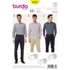BURDA - 6874 Mens Top