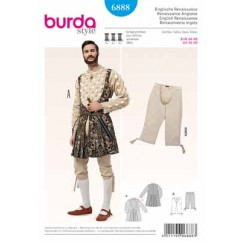 BURDA - 6888 Costume Historical Mens