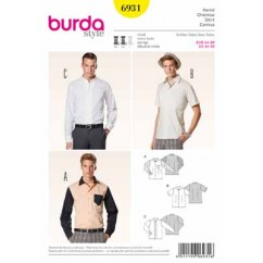 BURDA - 6931 Mens Shirt